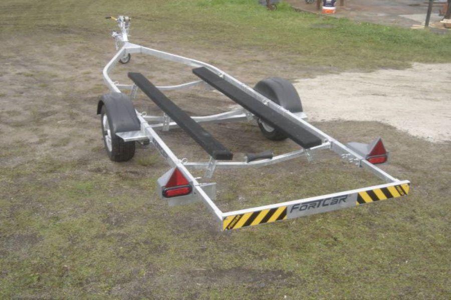 Carreta para Transporte de Barco - 1