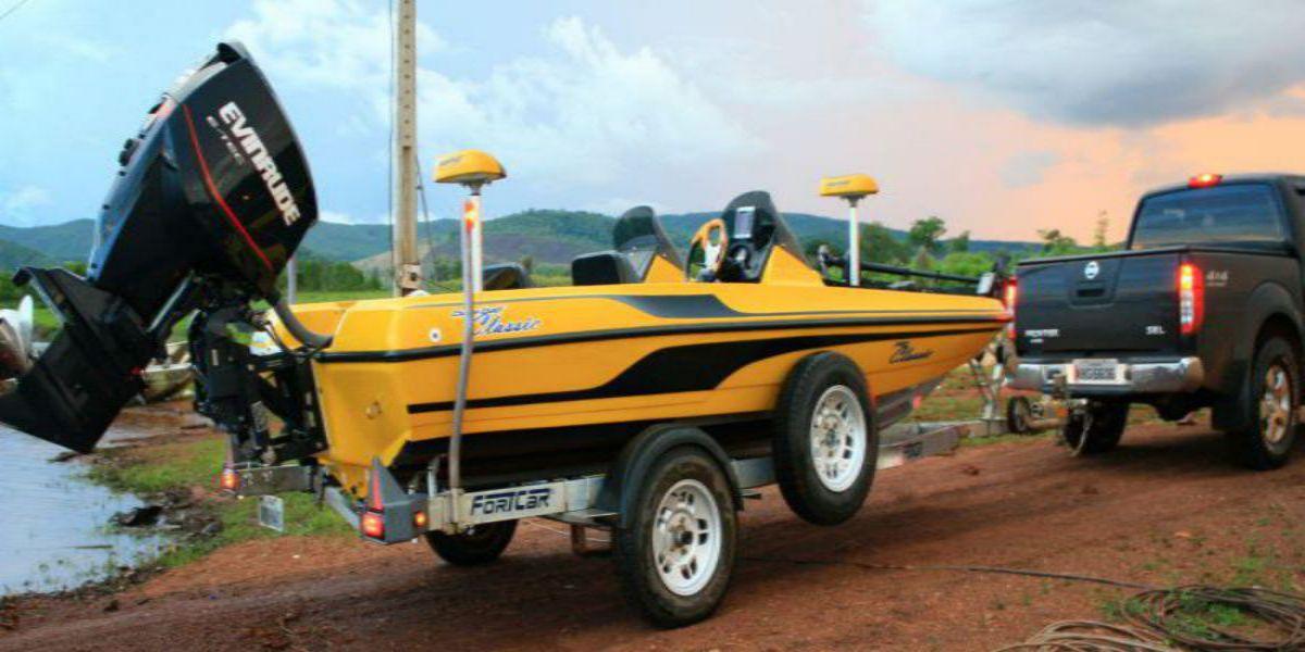 Carreta Trucada para Bass Boat - 1