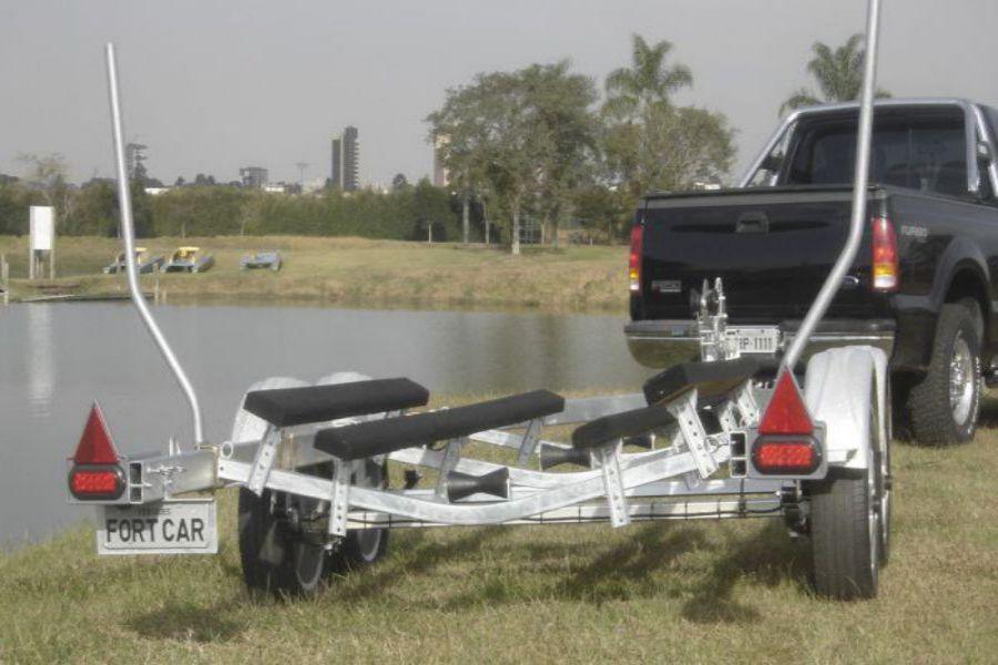 Carretinha para Transportar Barco - 1